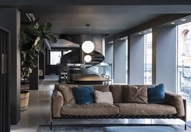 Boffi DePadova's showroom in London's Chelsea district expands to three floors.