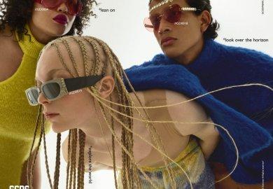 La prima campagna eyewear di GCDS.