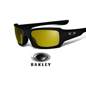 Oakley presents Polarized Fives Squared Fishing Specific
