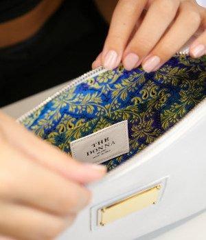 The jewel handbag Sarah combines beauty and functionality.