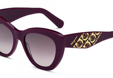 The Ferragamo responsible eyewear line makes its debut.
