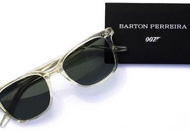007 indosserà gli occhiali di Barton Perreira nel film No Time To Die  in uscita a settembre.
