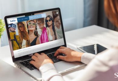 Il nuovo sito corporate di Safilo fa parte del processo di trasformazione digitale del gruppo.