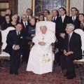 Il Consiglio Aio ha festeggiato Santa Lucia dal Papa