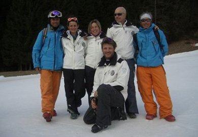 """I maestri di sci del Veneto a sostegno di """"Safe a Head"""""""