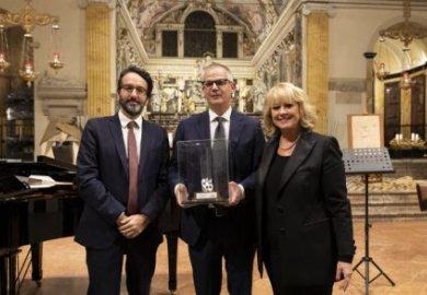 Giovanni Vitaloni riceve il premio Le Grandi Guglie della Grande Milano