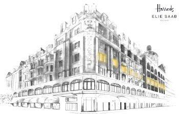 Elie Saab maison apre a Harrods London.
