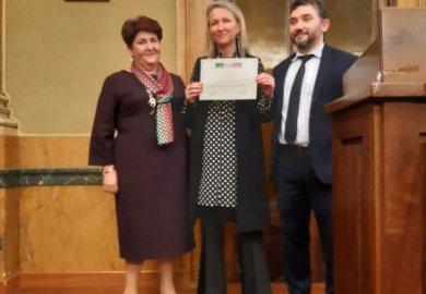 """A Barbara De Rigo il premio """"Donne per il Made in Italy"""""""
