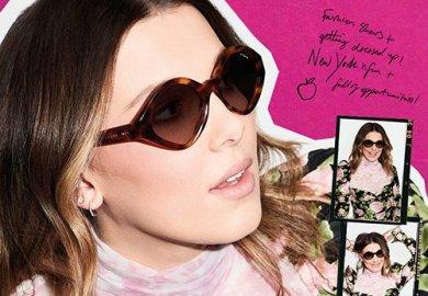 La nuova campagna di Vogue Eyewear ha come protagonista l'attrice britannica Millie Bobby Brown.