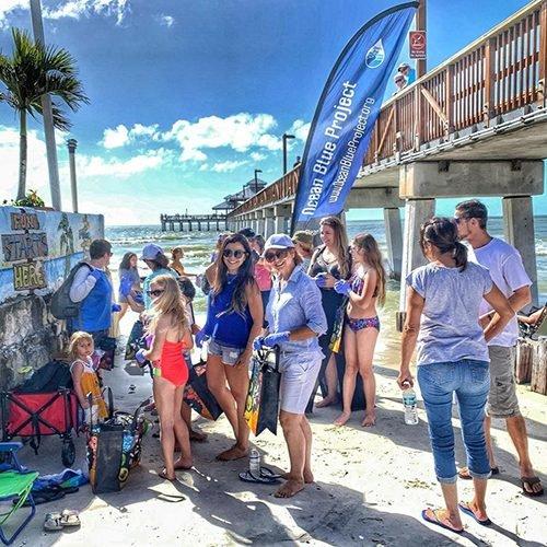 Mita collabora con Ocean Blue Project e Miami Beach Clean Up.