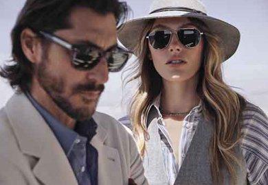 Da ottobre sarà disponibile la collezione di occhiali nata dalla collaborazione tra Oliver Peoples e Brunello Cucinelli.