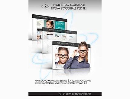 Con Salmoiraghi & Viganò arriva il virtual glasses fitting