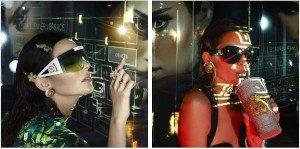 La campagna Primavera/Estate 2020 di Versace Eyewear.