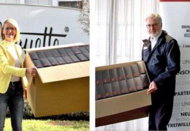 Silhouette dona 20.000 paia di occhiali alla Croce Rossa
