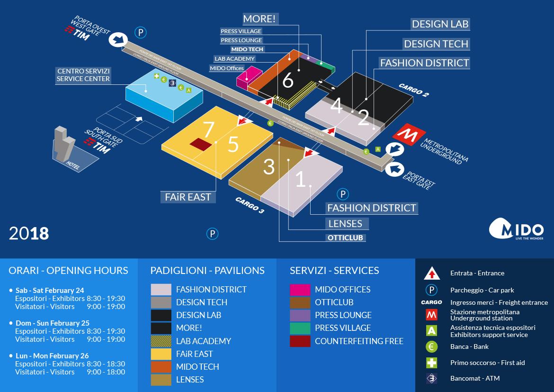 Mappa MIDO